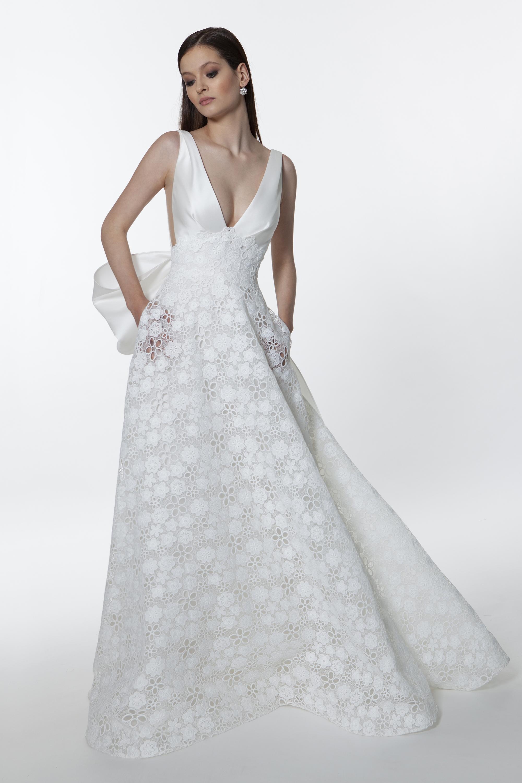 E0754 Zircone - Valentini Vestito da sposa