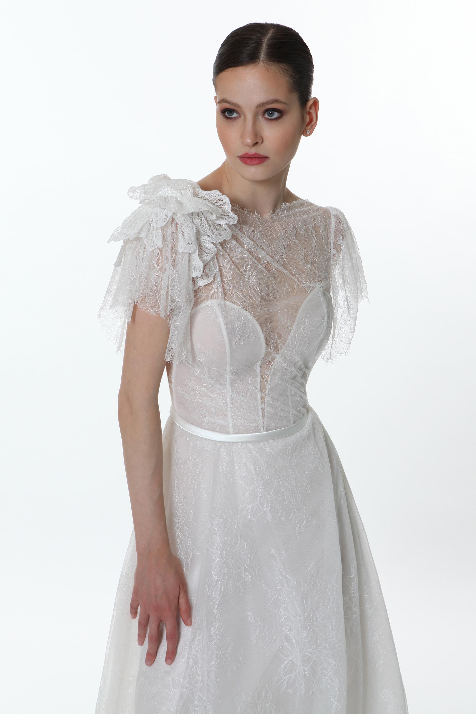 E0762 Opale - Valentini Vestito da sposa