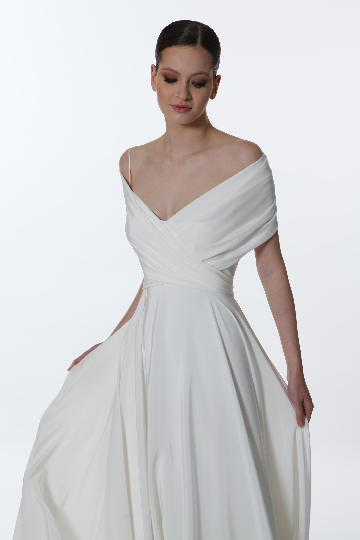 E0771 Madreperla - Valentini Vestito da sposa