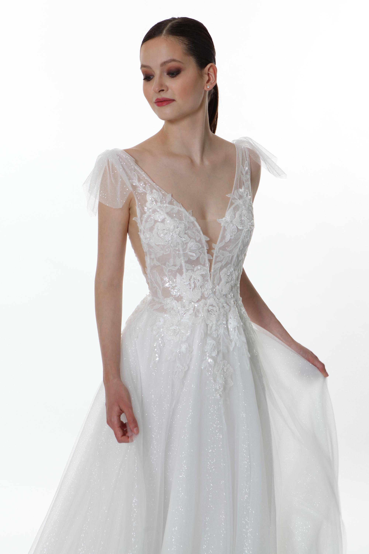 V1255 Terra - Valentini Vestito da sposa